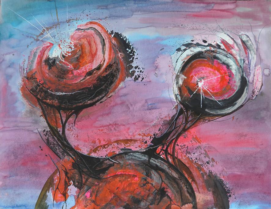 Acrylique, 50x65