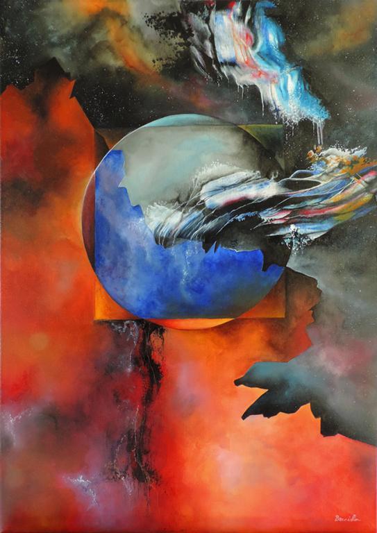 Acrylique, 50x70