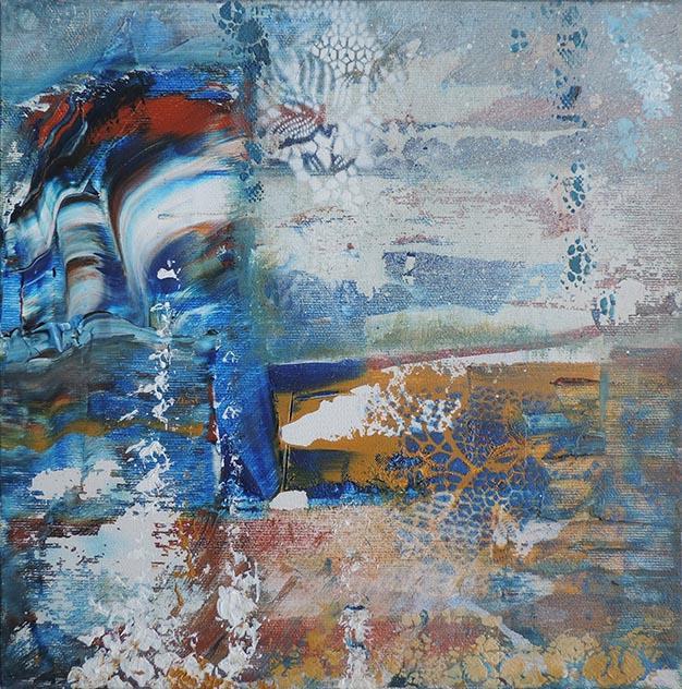 Acrylique, 30x30